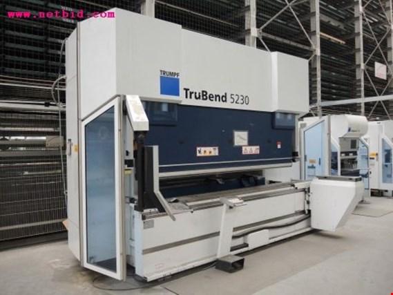 Used Trumpf Trubend 5230 Hydraulic Cnc Folding Press 318