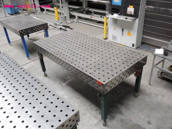 Welding Table For Sale >> Used 3d Perforated Welding Table 345 For Sale Auction