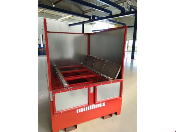 Used Minimax BWCon 1.400 Fire protection tray for IBC containers for Sale (Trading Premium) | NetBid Industrial Auctions
