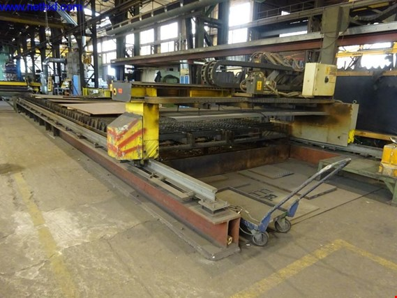 Used ESAB Suprarex SXE-P1 3500  Portal flame cutting machine, for Sale (Trading Premium) | NetBid Industrial Auctions