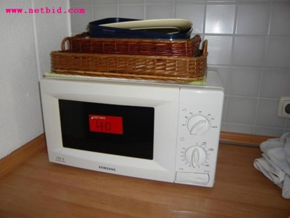 Used Samsung Microwave Oven For