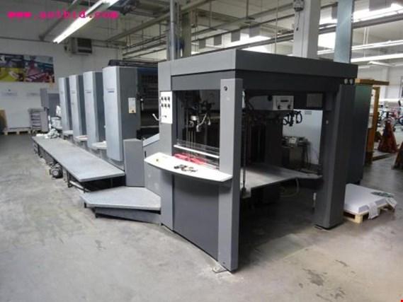 Set up offset printing press