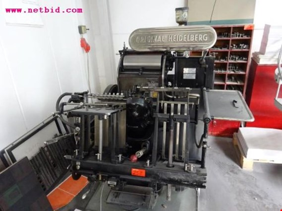 Used Heidelberg Original Heidelberger Tiegel platen press for Sale (Trading Premium)