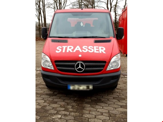mercedes benz sprinter 309 cdi doka pritsche transporter gebraucht kaufen auction premium. Black Bedroom Furniture Sets. Home Design Ideas
