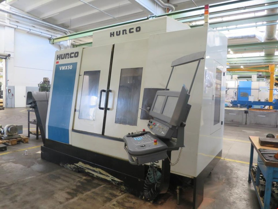 Used Hurco VMX 50/40 T CNC processing center for Sale