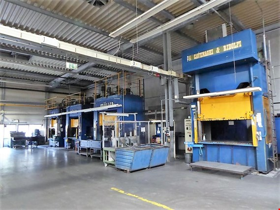 Online insolvency auction machinery and equipment in the field of metalworking and surface technology