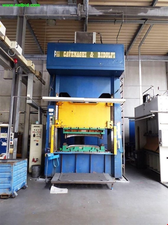 Cavenaghi & Ridolfi 250TCN.1ED hydraulic press - please note: conditional sale koupit použité (Trading Premium)