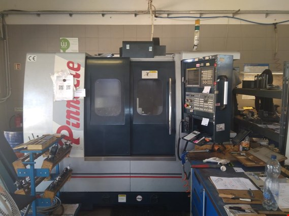 CNC vertical machining center with Fanuc control system