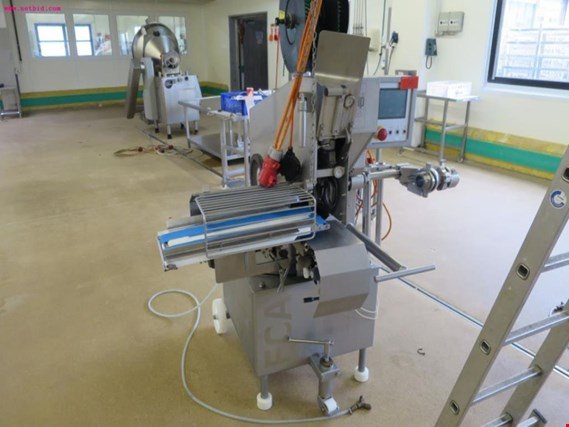 Meat processing machines as well as  business and office equipment