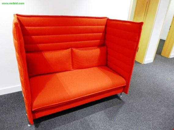 vitra alcove highback sofa gebraucht kaufen auction premium. Black Bedroom Furniture Sets. Home Design Ideas