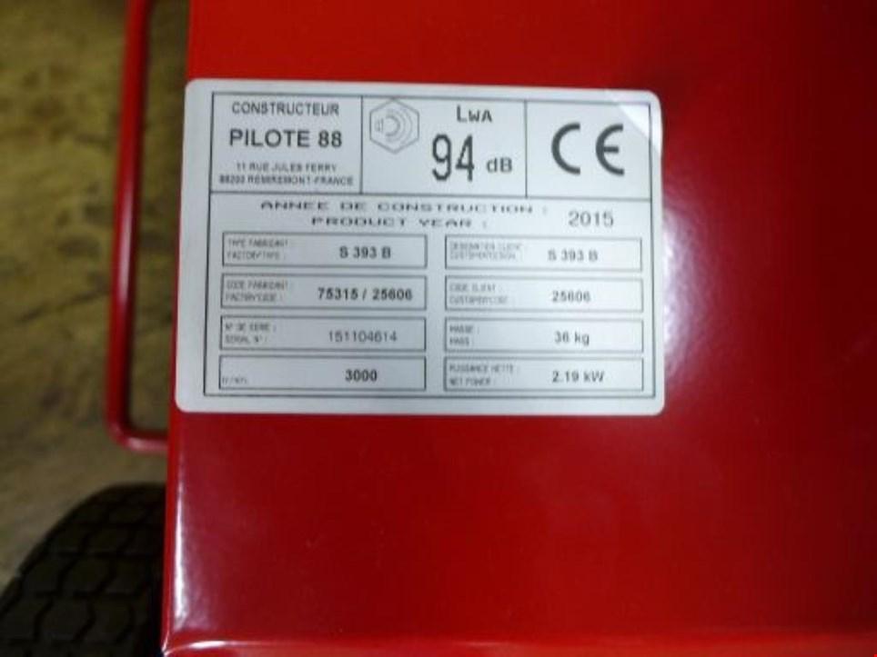 lazer s 393 b pilote 88 benzin vertikutierer gebraucht kaufen trading premium. Black Bedroom Furniture Sets. Home Design Ideas