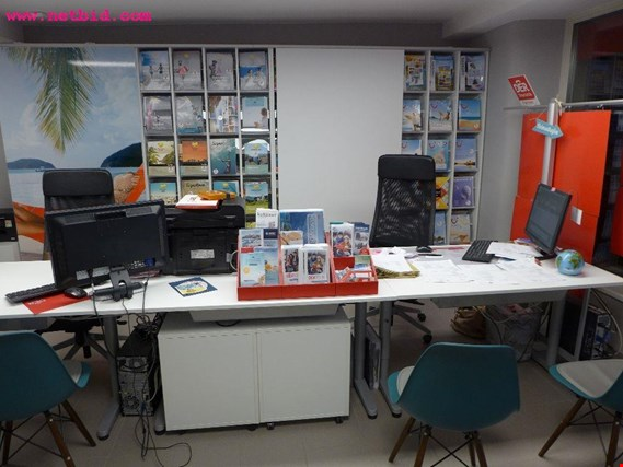 Post auction sale  office equipment of a travel agency