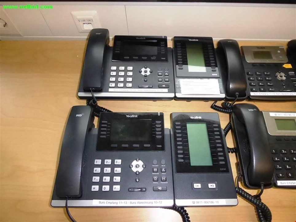Used Yealink 2 VoIP-Telefonanlage for Sale (Trading Premium)