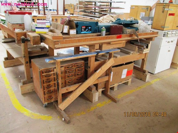 Used Ulmia 3 Hobelbänke for Sale (Auction Premium)