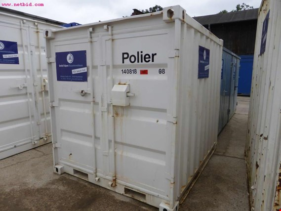 9´-Materialcontainer gebraucht kaufen (Auction Premium)