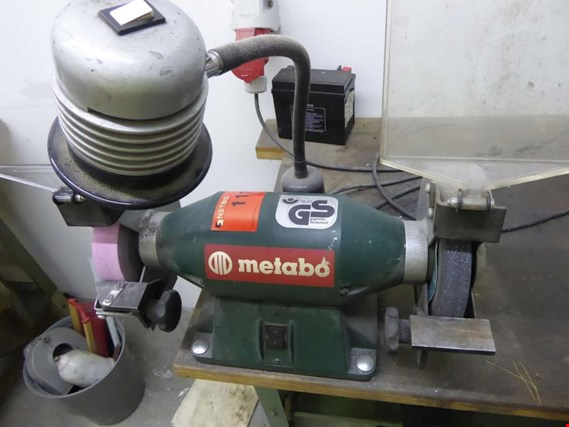 Excellent Used Metabo Ds W 5176 Double Bench Grinder For Sale Auction Andrewgaddart Wooden Chair Designs For Living Room Andrewgaddartcom
