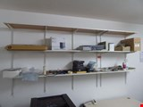 wall shelf rail system