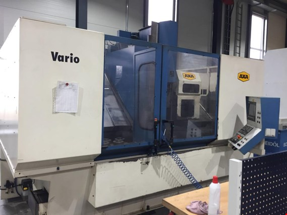 2 CNC Vertical Machining Centers, Axa