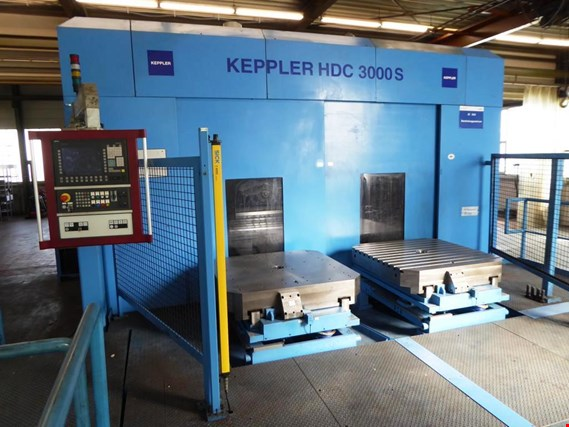 Used Keppler HDC 3000S (HDC 2000S),  CNC Horizontal Machining Center for Sale (Trading Premium)