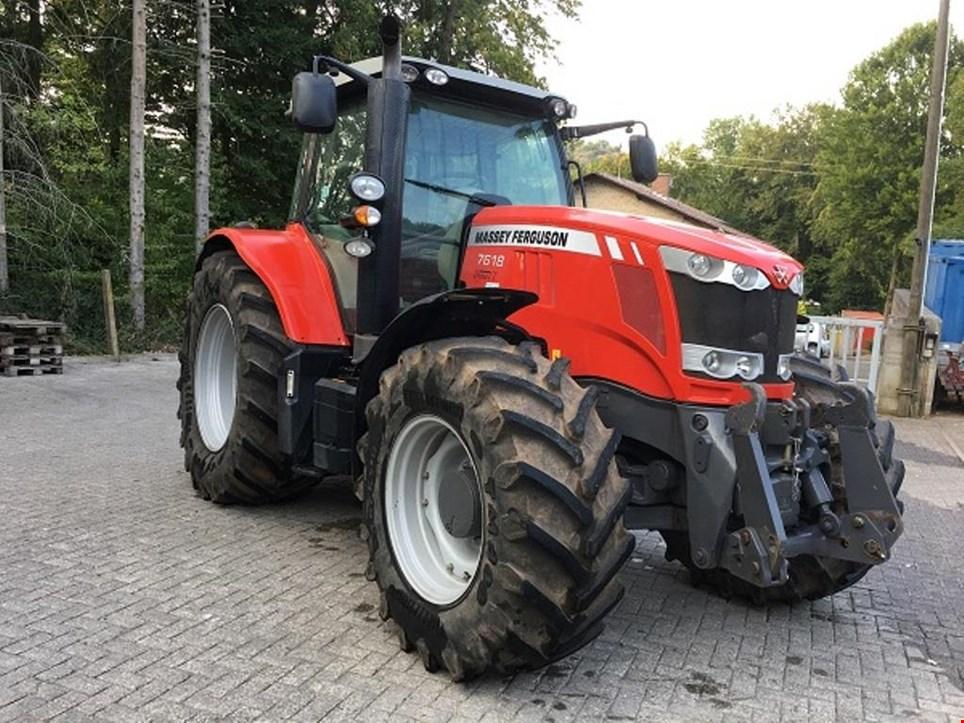 massey ferguson 7618 dyna vt allrad traktor schlepper gebraucht kaufen auction premium