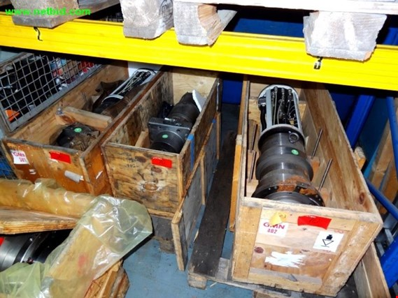 Used 11 motor spindles for Sale (Trading Premium) | NetBid Industrial Auctions