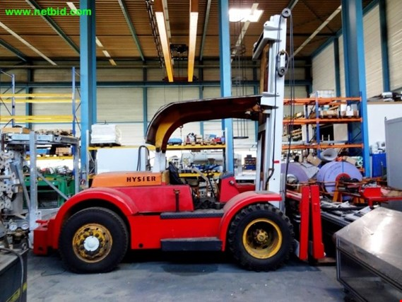 Used Hyster Diesel forklift truck for Sale (Trading Premium)