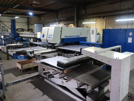 Used Trumpf Trumatic 600L (Typ Nr. 9312) CNC laser punching and nibbling machine (5102) for Sale (Trading Premium)