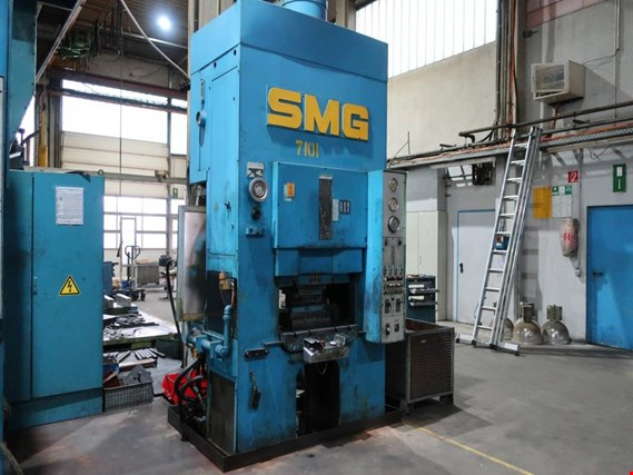 Used SMG DS 100 dual column hydraulic press (7101) for Sale (Trading Premium)