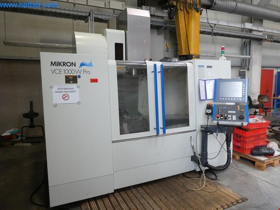 Used Mikron VC1000W Pro CNC machining center for Sale (Auction Premium) | NetBid Industrial Auctions