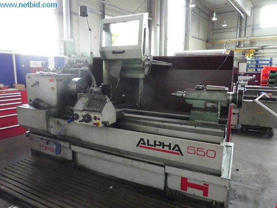 Used Harrison Alpha 550 Lathe for Sale (Trading Premium) | NetBid Industrial Auctions