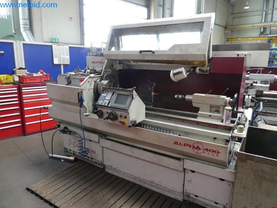 Used Harrison Alpha 400 Plus Lathe for Sale (Trading Premium) | NetBid Industrial Auctions