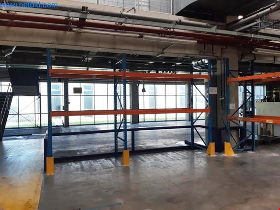 Used 2 Heavy duty pallet racks for Sale (Online Auction) | NetBid Industrial Auctions