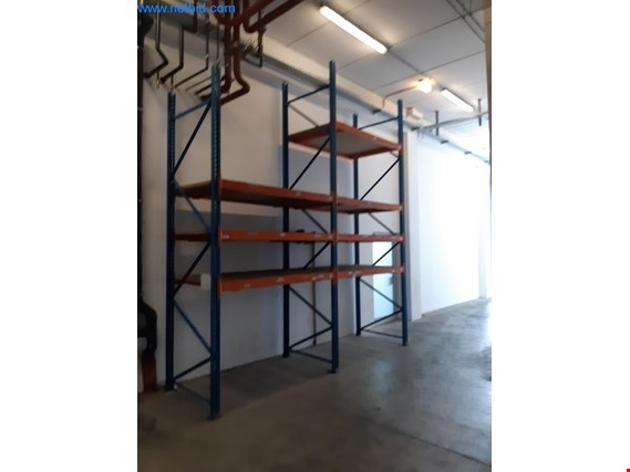2 Heavy duty pallet racks (Online Auction) | NetBid ?eská republika