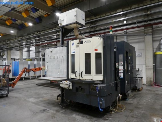 Used Makino A55E-A29 CNC machining center (944) for Sale (Auction Premium) | NetBid Industrial Auctions
