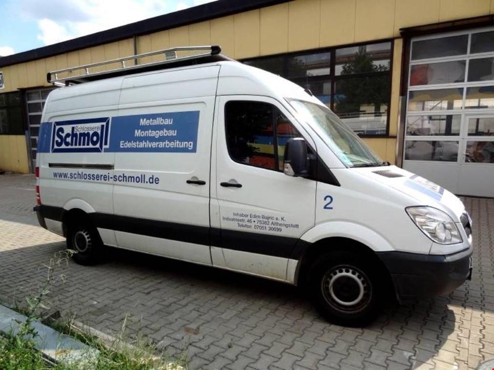 mercedes benz sprinter 311 cdi 906 bb 35 transporter. Black Bedroom Furniture Sets. Home Design Ideas
