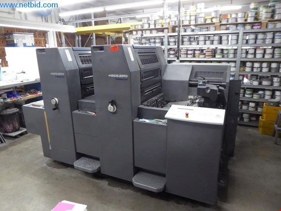 Used Heidelberg R2 2-colour sheet-fed offset press for Sale (Trading Premium) | NetBid Industrial Auctions