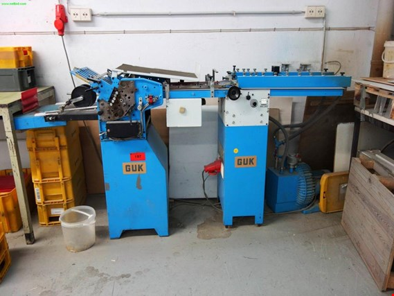 Used GUK book folding machine for Sale (Trading Premium)