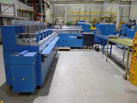 Used Buhrs BB600 inserting machine for Sale (Auction Premium)