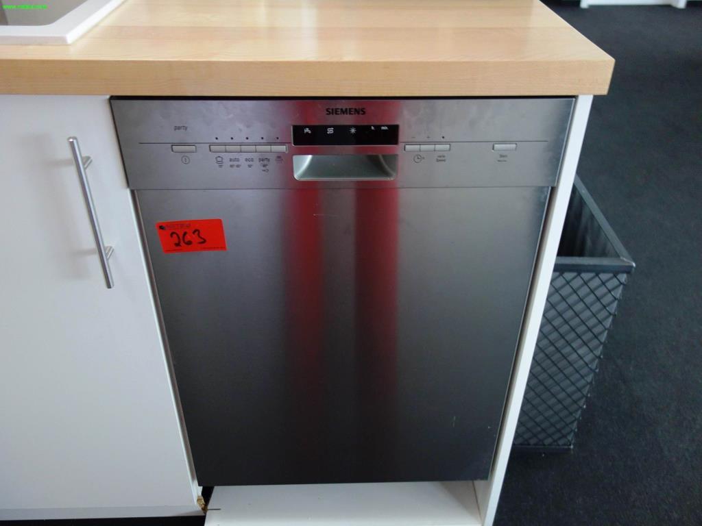 Used Siemens Party Geschirrspülmaschine For Sale (Auction Premium)