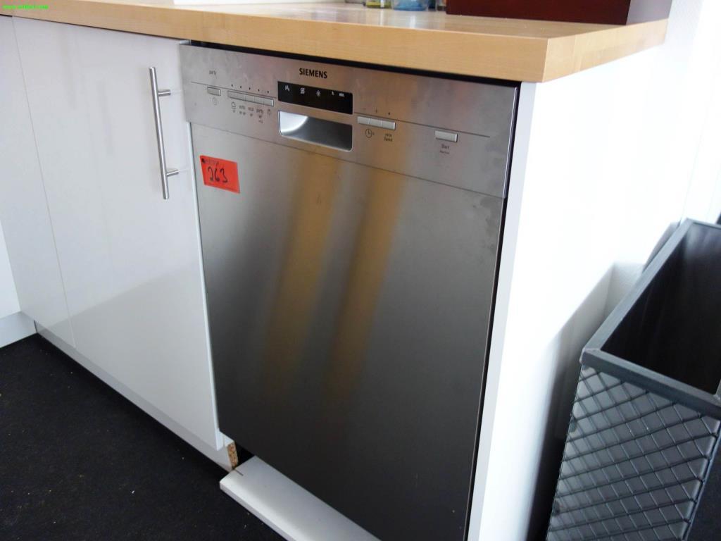 Lieblich Used Siemens Party Geschirrspülmaschine For Sale (Auction Premium)