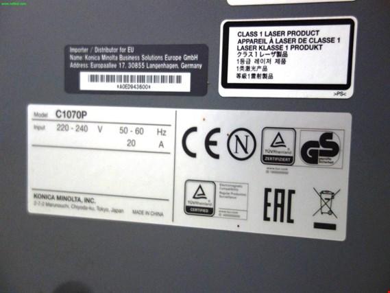Used Konica Minolta Bizhub Press C1070P digital printing press for
