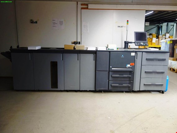 Used Konica Minolta Bizhub Press 1250eP digital sheet-fed printing press - please note: conditional sale for Sale (Trading Premium)