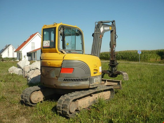 Used Volvo ECR58 compact excavators for Sale (Auction Premium)