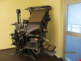 Linotype 8 historic printing press