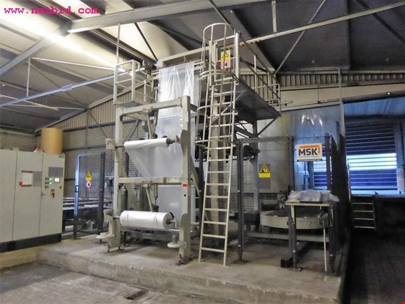 MSK pallet film wrapping machine  (Trading Premium)
