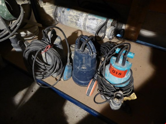 Used Einhell/ Gardena 3 Tauchpumpen for Sale (Trading Premium)