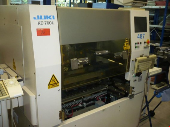 Used Juki KE-760L SMD-Bestückungsautomat for Sale (Trading Premium) | NetBid Industrial Auctions