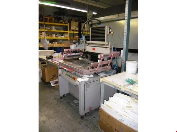 Atma AT-750H/E semi-automatic screen printing table (Auction Premium) | NetBid ?eská republika