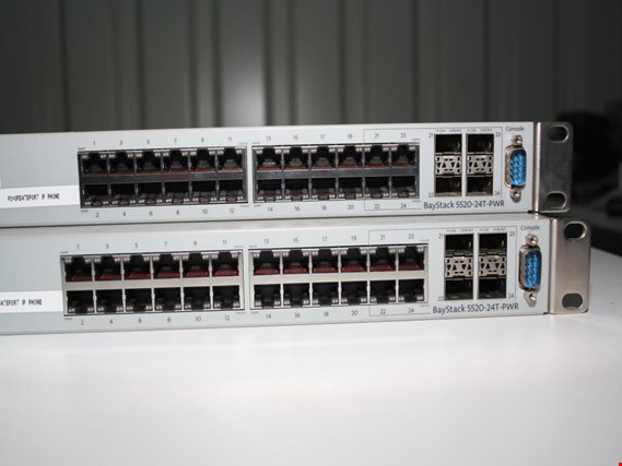 Used Nortel Networks Baystack 5520 24T PWR 2 Switch 24 Ports For Sale Auction Premium