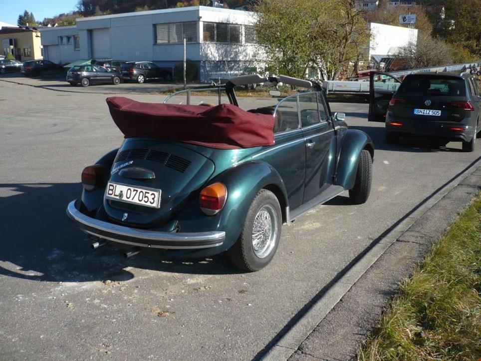 volkswagen 1303 15 pkw vw k fer cabrio gebraucht kaufen. Black Bedroom Furniture Sets. Home Design Ideas